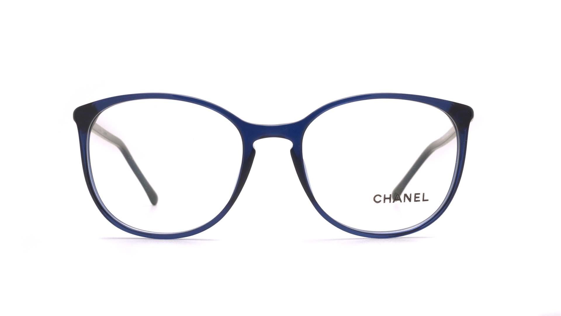 5c1119ef9d6 Eyeglasses Chanel Signature Blue CH3282 C503 54-18 Large