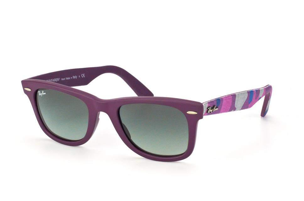 3f2d65b4f8cb1 Sunglasses Ray-Ban Original Wayfarer Urban Camouflage Purple RB2140 6064 71  50-22 Medium Gradient