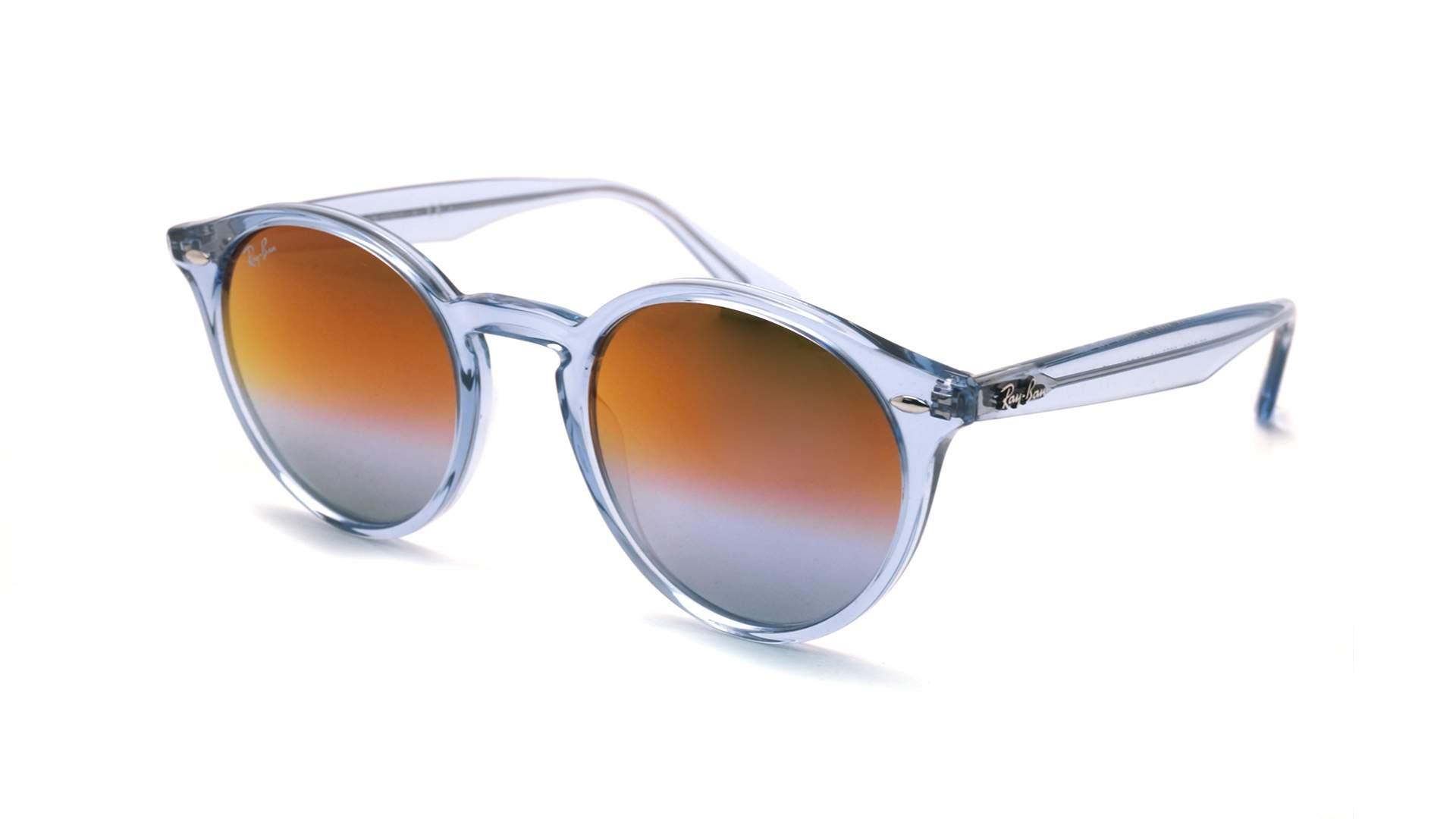 cee35e22a1 Sunglasses Ray-Ban RB2180 6278A9 49-21 Blue Medium Gradient Mirror