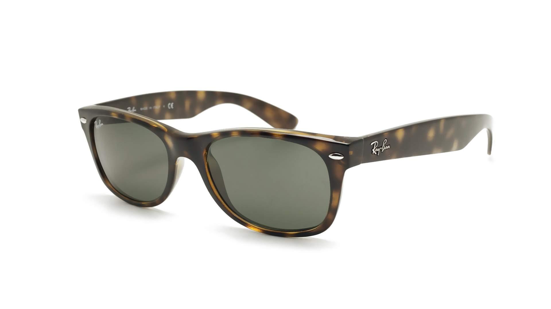 d76f213d70f Sunglasses Ray-Ban New Wayfarer Tortoise RB2132 902 52-18 Medium
