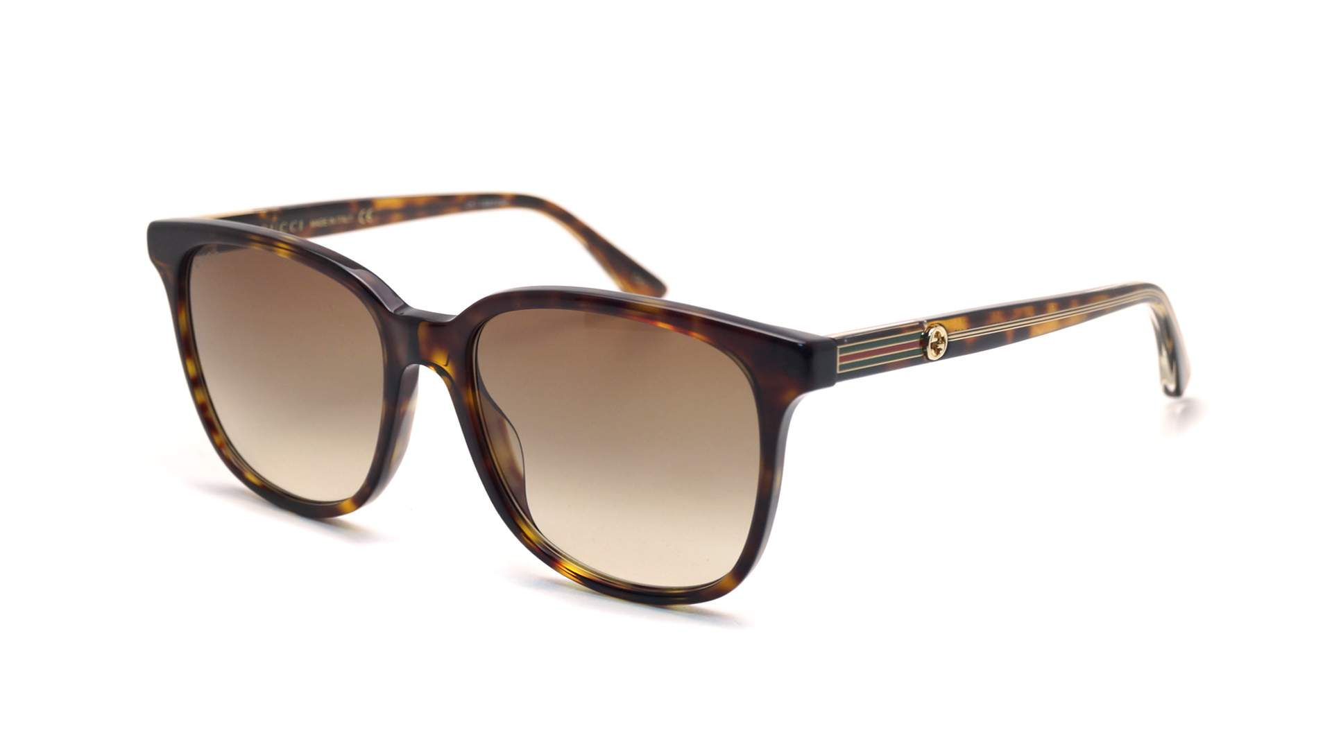 31ac3dced05 Sunglasses Gucci GG0376S 002 54-17 Tortoise Medium Gradient