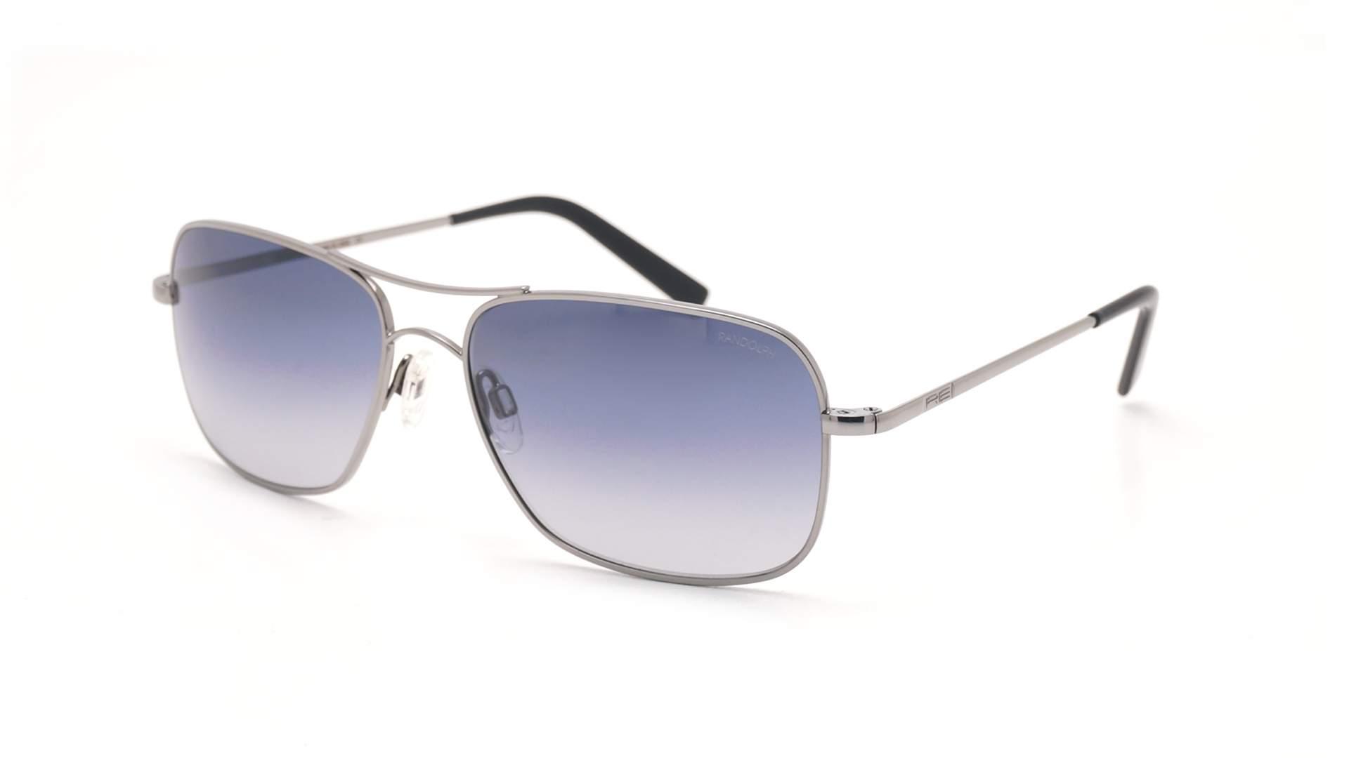 f59d9c8186d Sunglasses Randolph Archer Grey AR004 59-16 Large Gradient