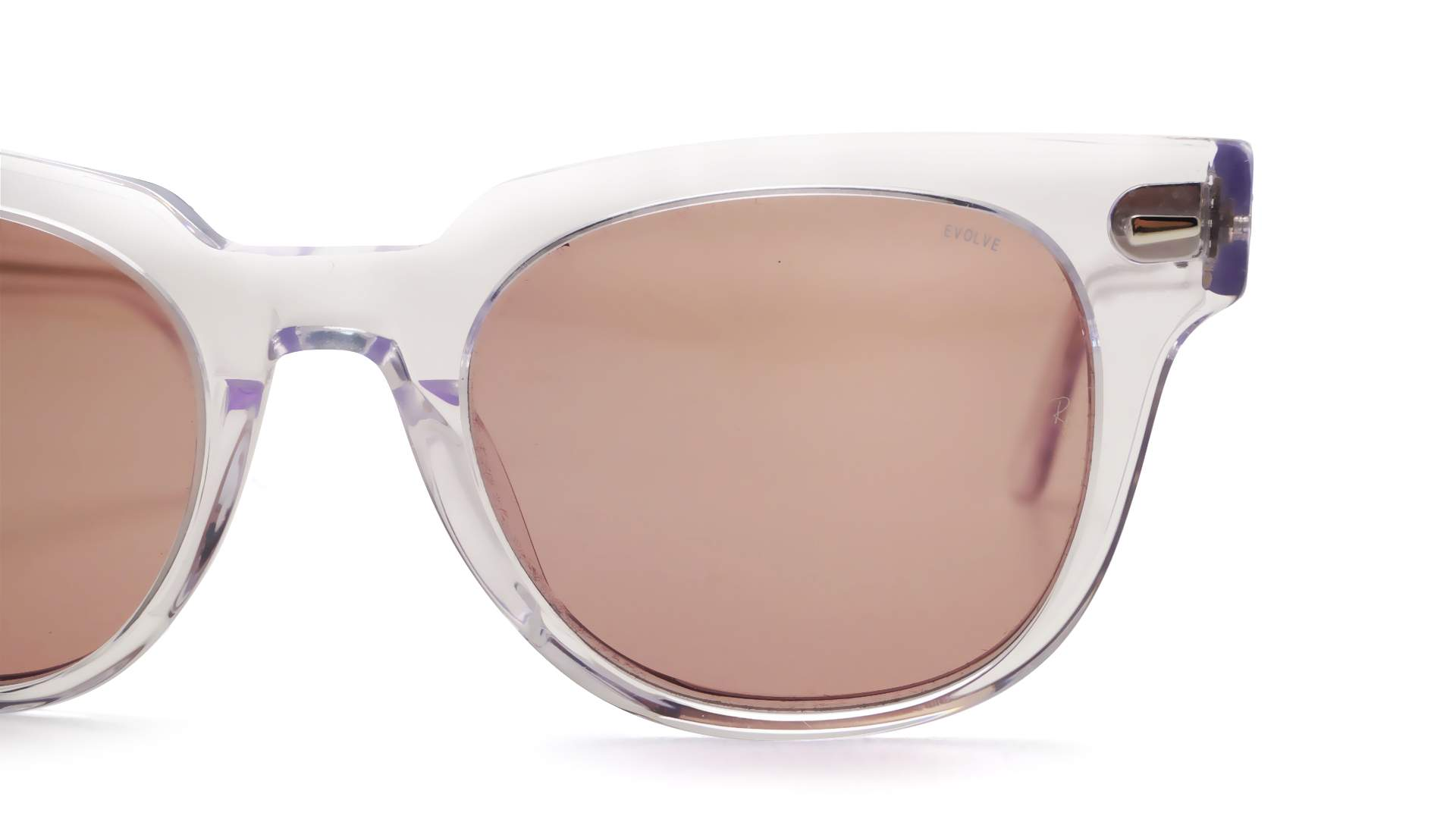 b5ec9737a7b7c8 Sunglasses Ray-Ban Meteor Evolve Clear RB2168 912 Z0 50-20 Medium  Photochromic