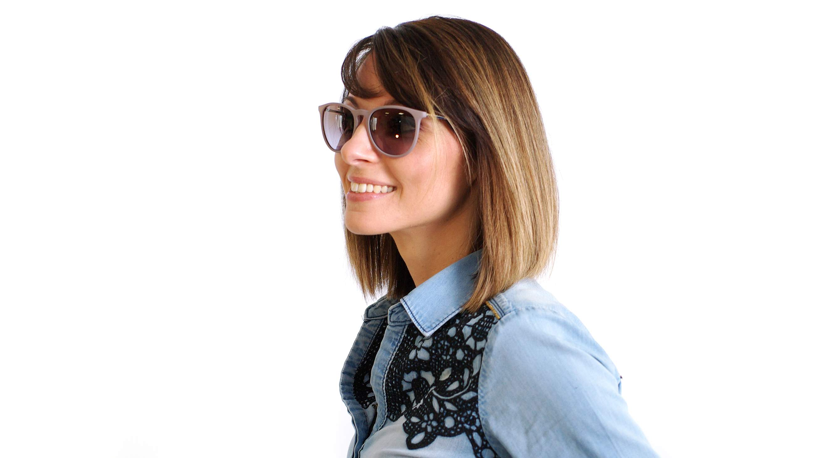 1e04726bfcb Sunglasses Ray-Ban Erika Brown RB4171 6000/68 54-20 Medium Gradient
