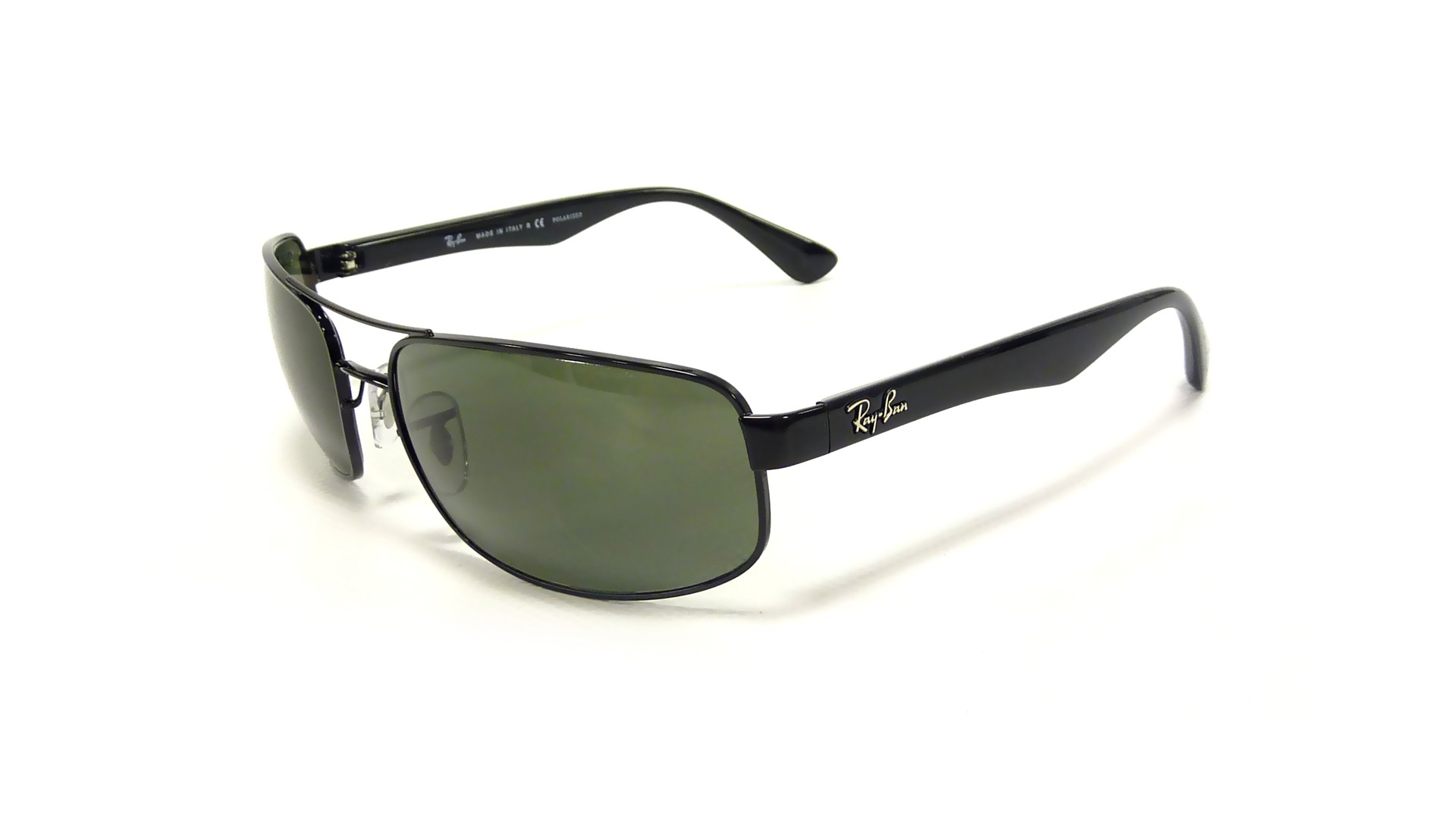 3d5c044f42 Sunglasses Ray-Ban RB3445 002 58 61-17 Black Large Polarized
