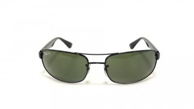 Ray-Ban Schwarz RB3445 002/58 61-17 Polarisierte Gläser