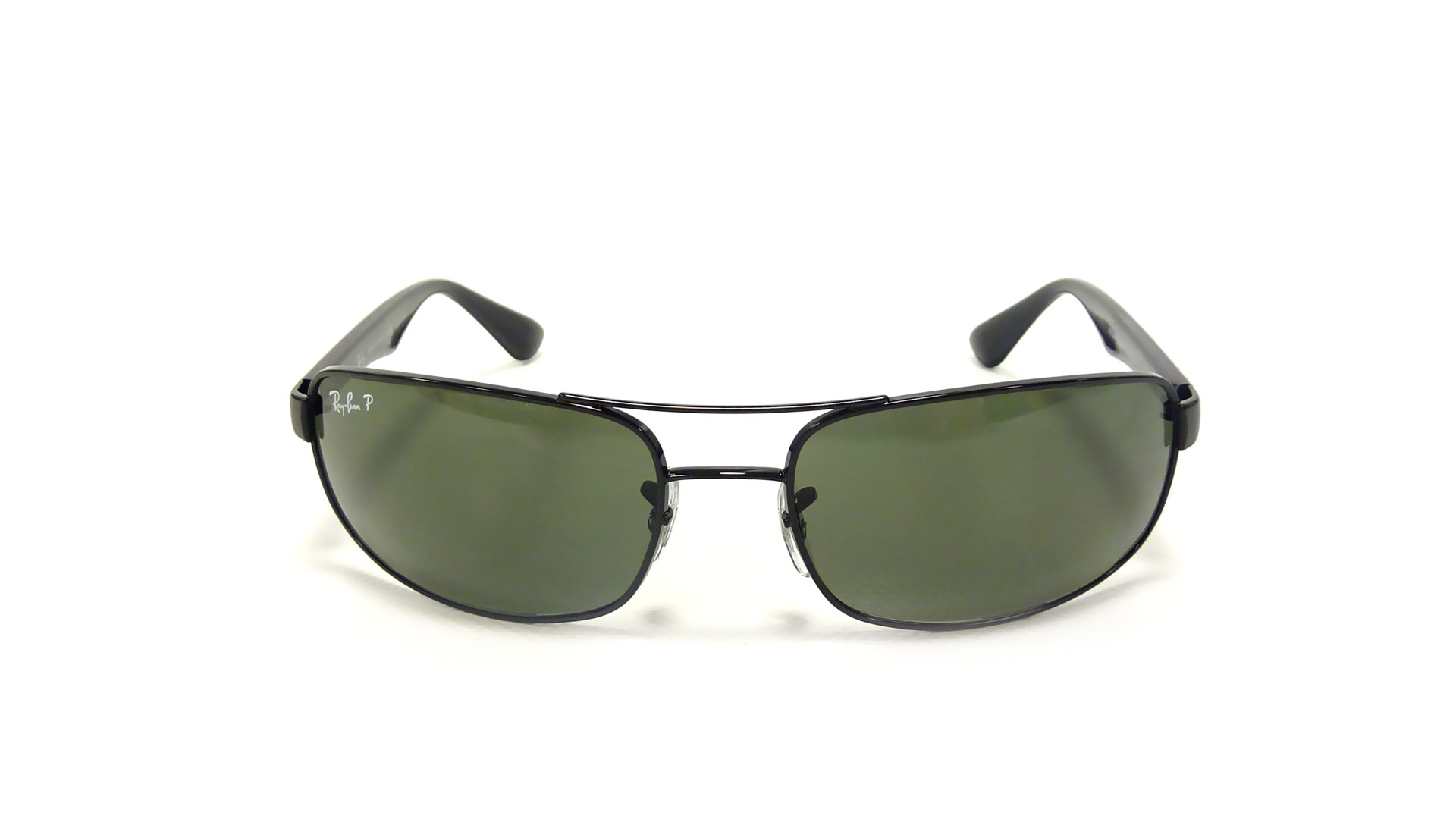 c6f686b30a6 Sunglasses Ray-Ban RB3445 002 58 61-17 Black Large Polarized