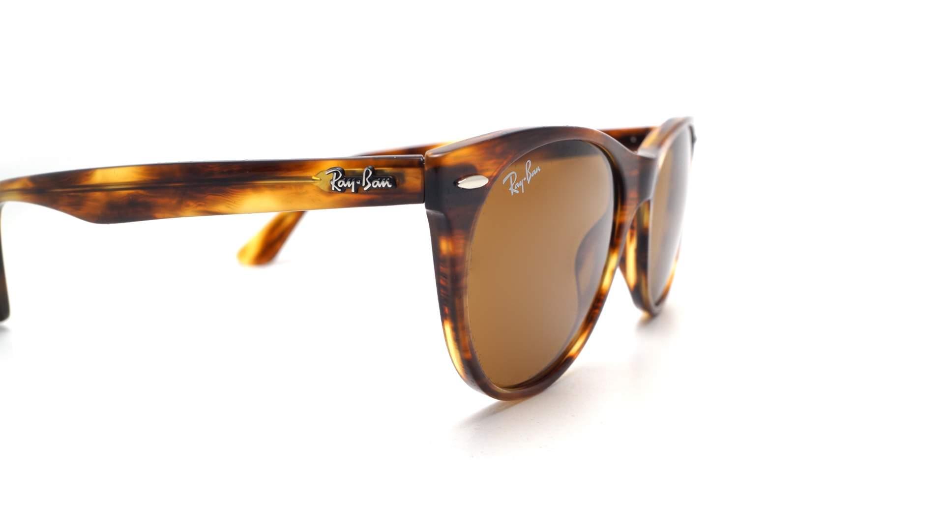 2d52da001 Sunglasses Ray-Ban Wayfarer II Classic Tortoise RB2185 954/33 52-18 Medium