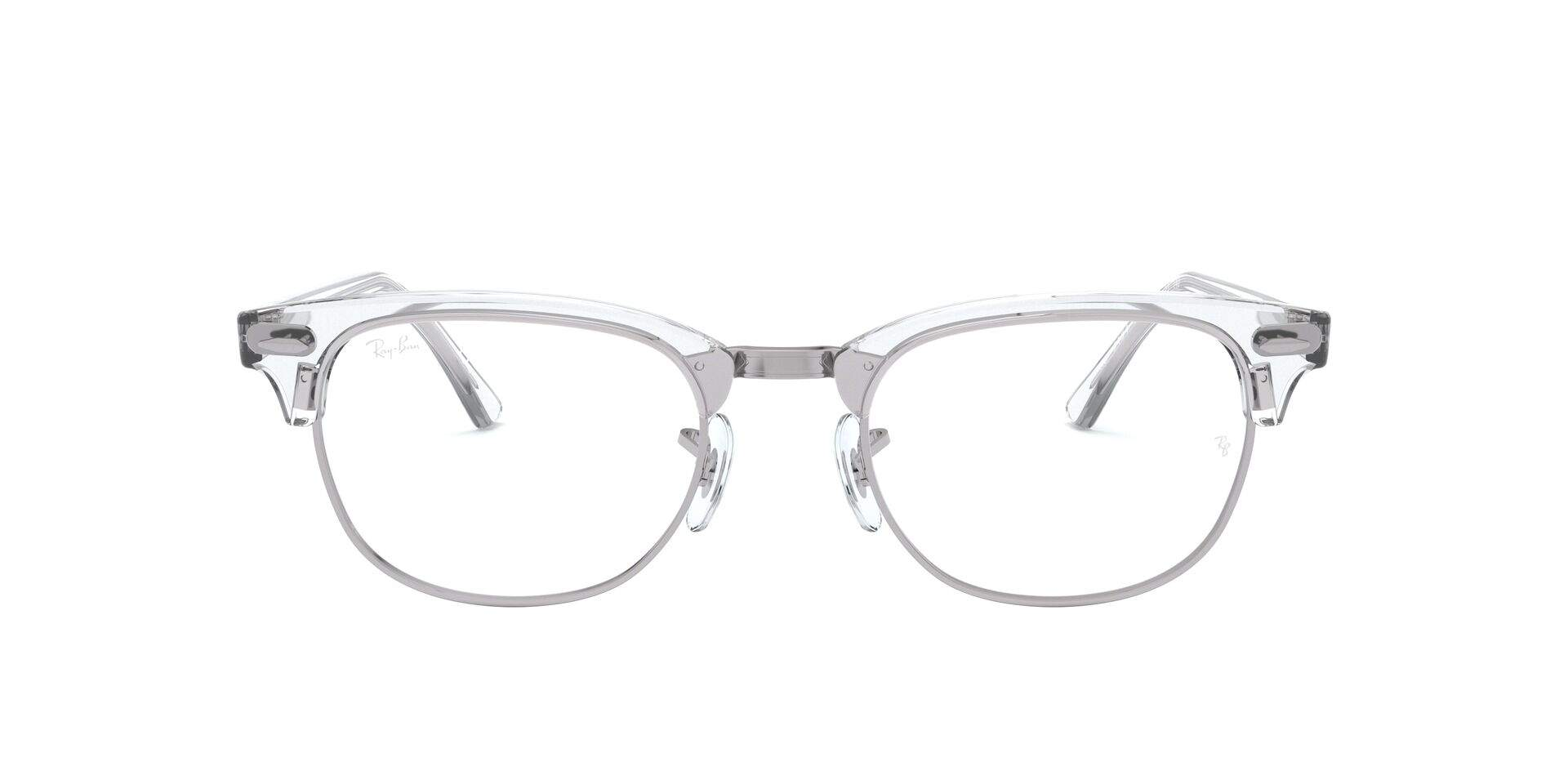 e52ae2895bb16 Eyeglasses Ray-Ban Clubmaster Optics Clear RX5154 2001 49-21 Medium
