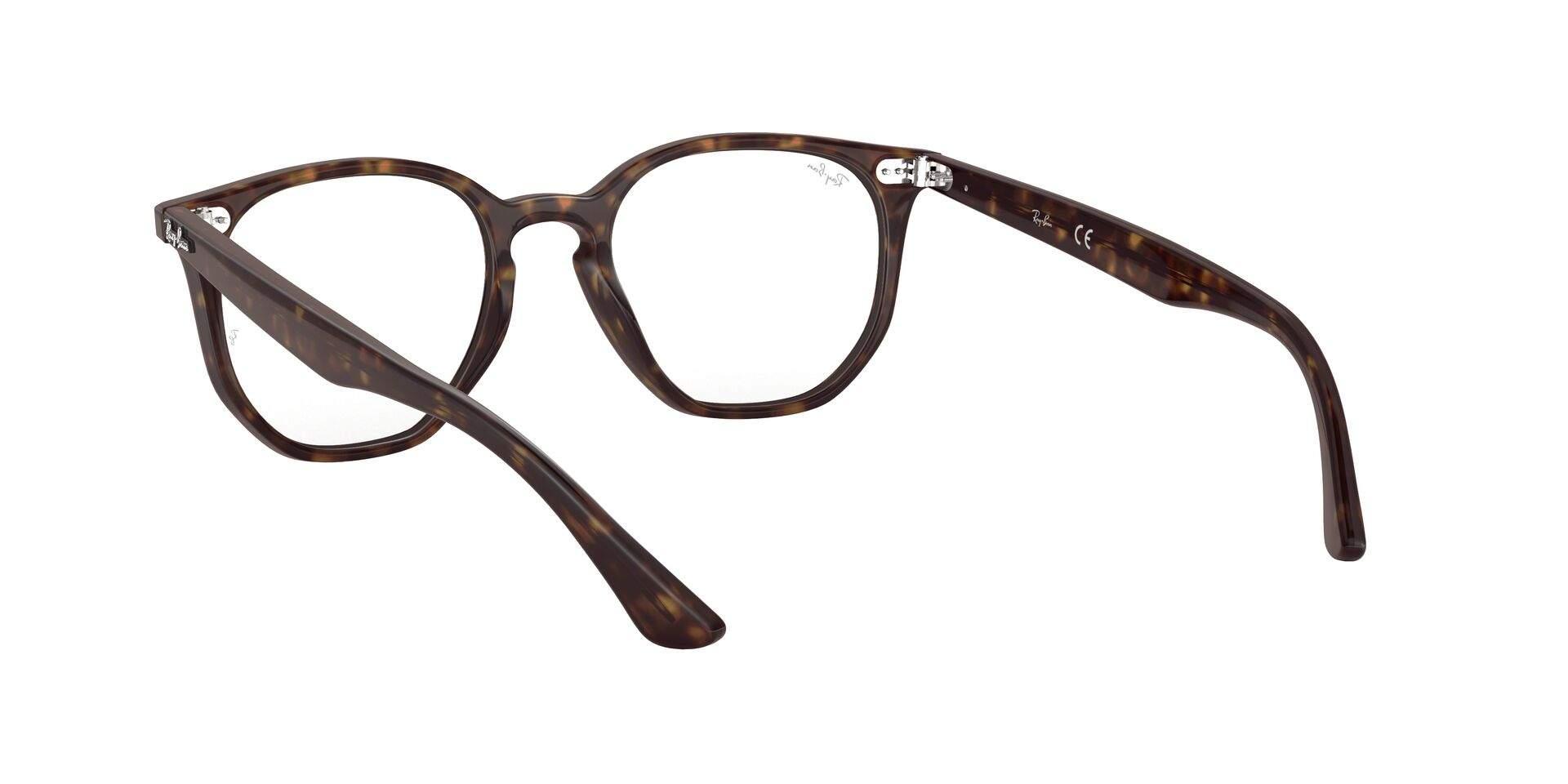 6b18348c80 Eyeglasses Ray-Ban Hexagonal Optics Tortoise RX7151 2012 50-19 Medium
