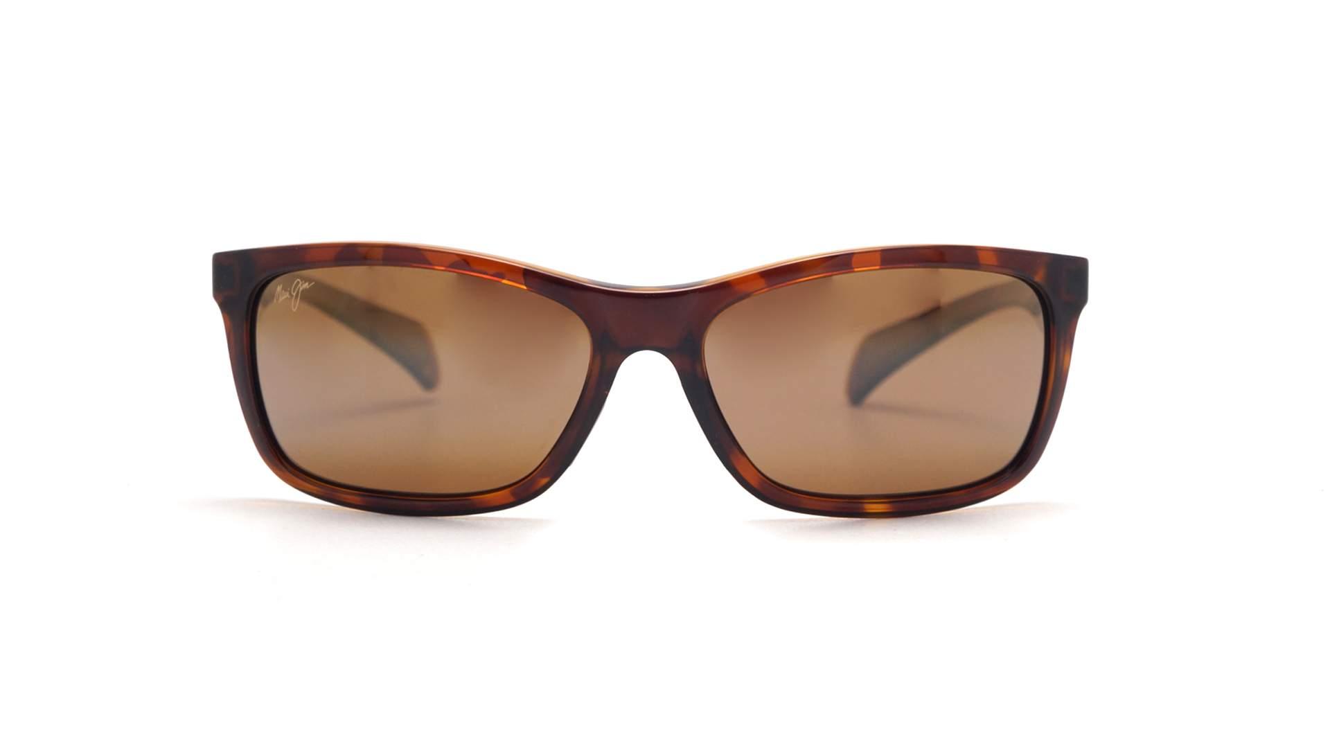 280c27e881c Sunglasses Maui Jim Puhi Tortoise Minéral superthin H785-10 59-17 Medium  Polarized Gradient Flash