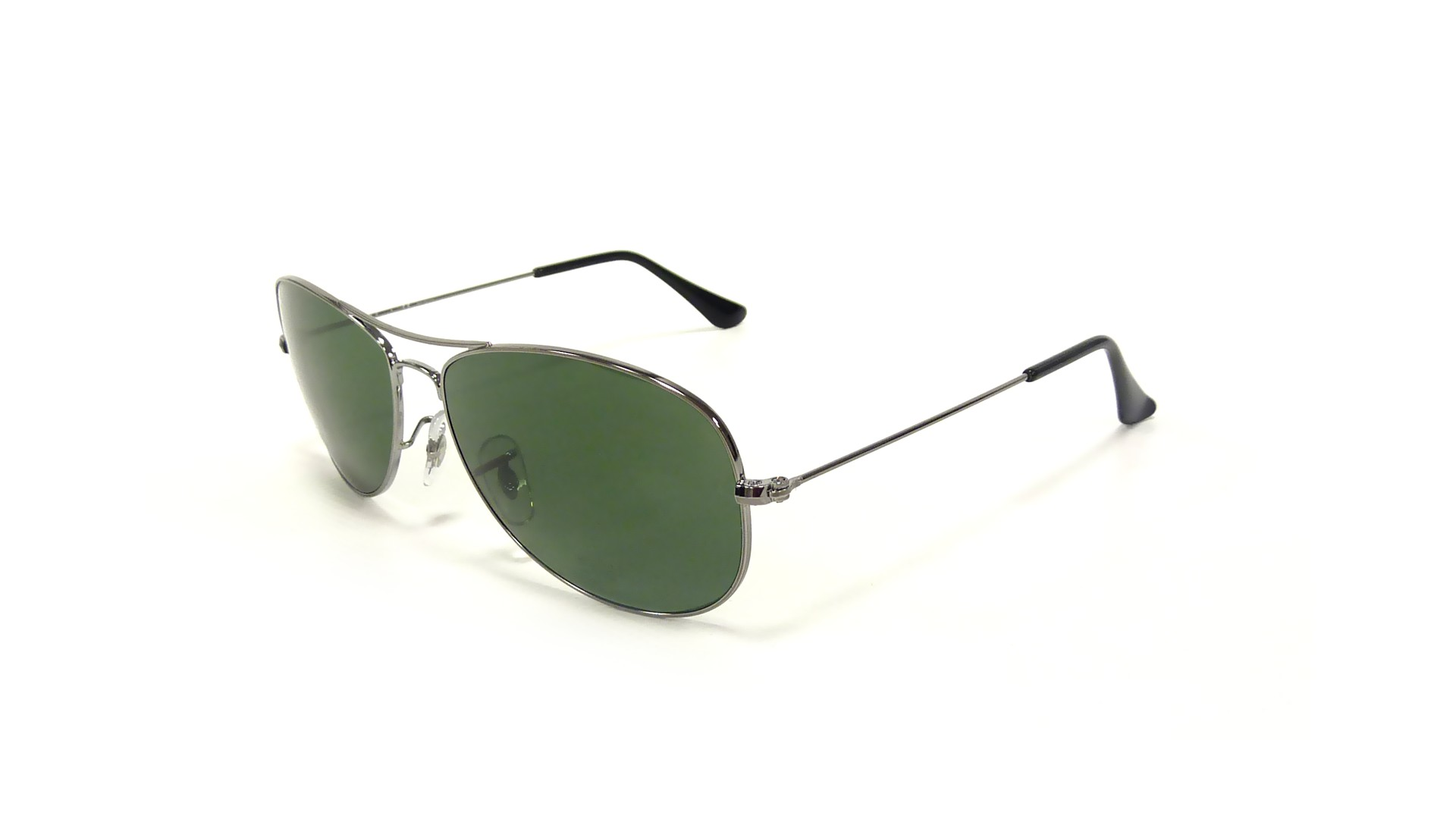 ffb22f1d8ed Sunglasses Ray-Ban Cockpit Silver RB3362 004 58 59-14 Large Polarized