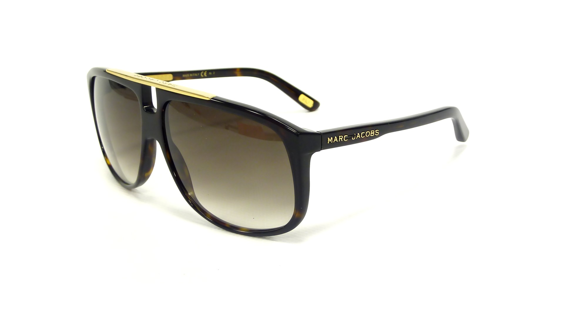 7ba6ab7b149849 Sunglasses Marc Jacobs MJ252S 086 JS 60-13 Tortoise Large Gradient