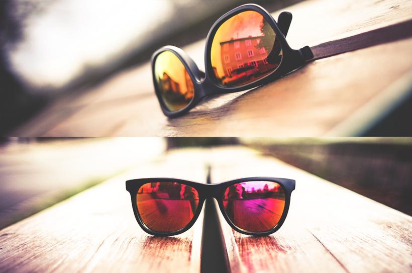 fc4b4ffb077af Les lunettes de soleil aux verres miroirs colorés   une tendance  définitivement adoptée par les célébrités