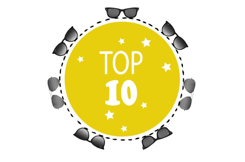 Le TOP 10 des meilleures lunettes de 2012 !