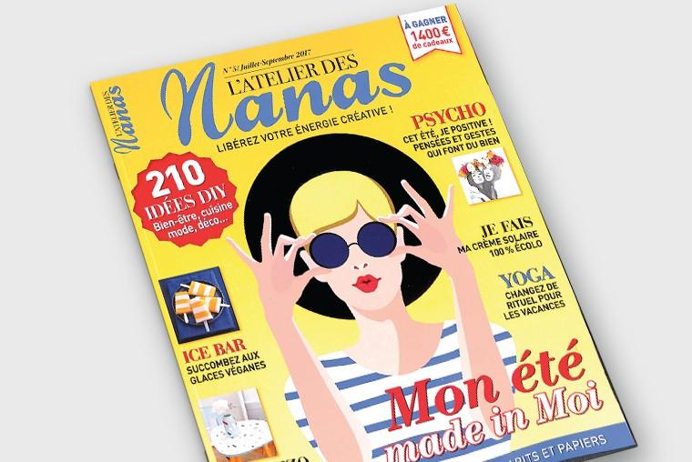 Nos lunettes s'invitent dans l'Atelier des Nanas