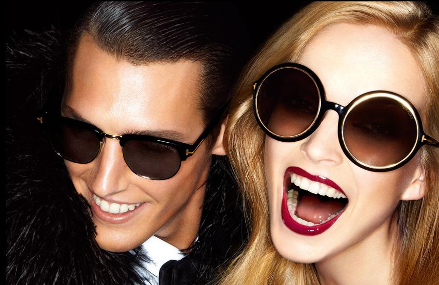 Envie d adopter un style Glamour   Les lunettes Tom Ford sont là ... 992d4b8a4d0d