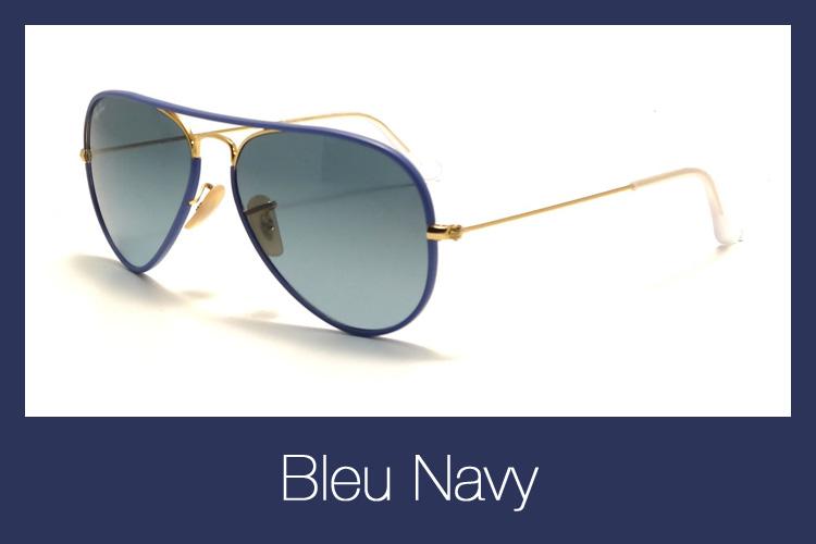 Lunettes de soleil Ray-Ban RB 3025JM Aviator Full Color 001 4M Bleu a245b2f5e2b1