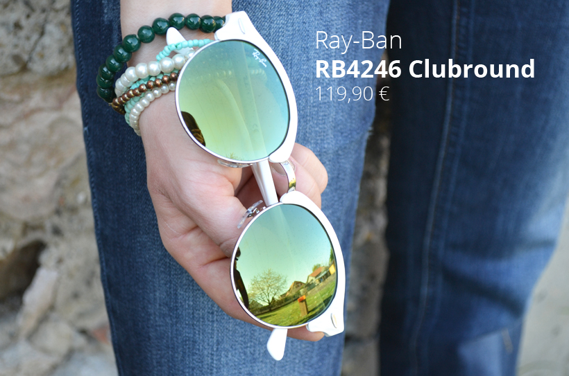 Lunette de soleil ray-Ban Clubround-Visiofactory
