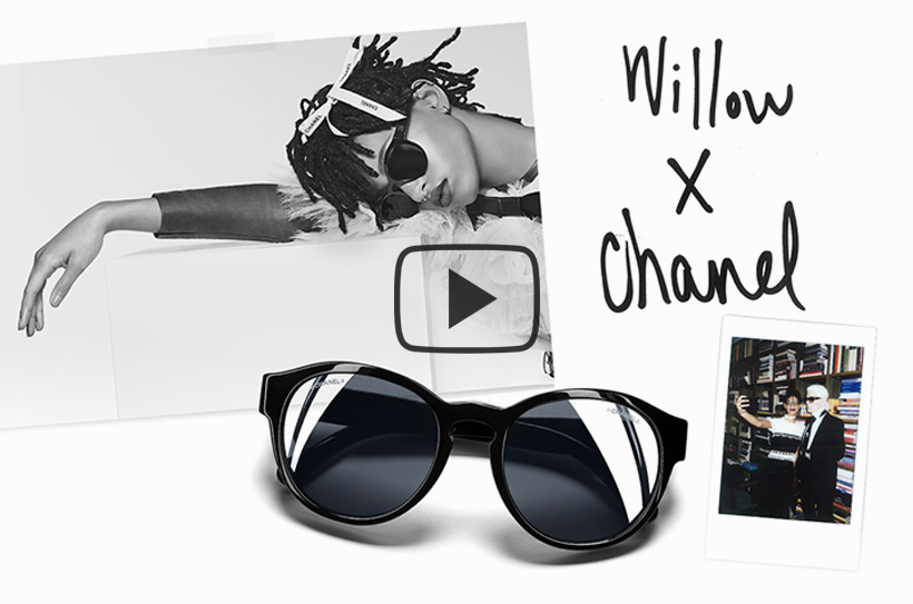 willow smith chanel-lunettes