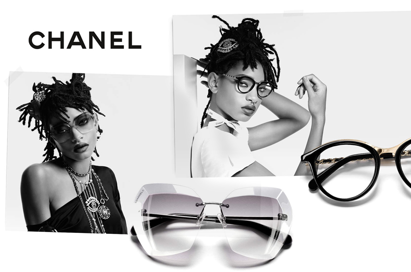 chanel willow smith égérie lunettes 2016