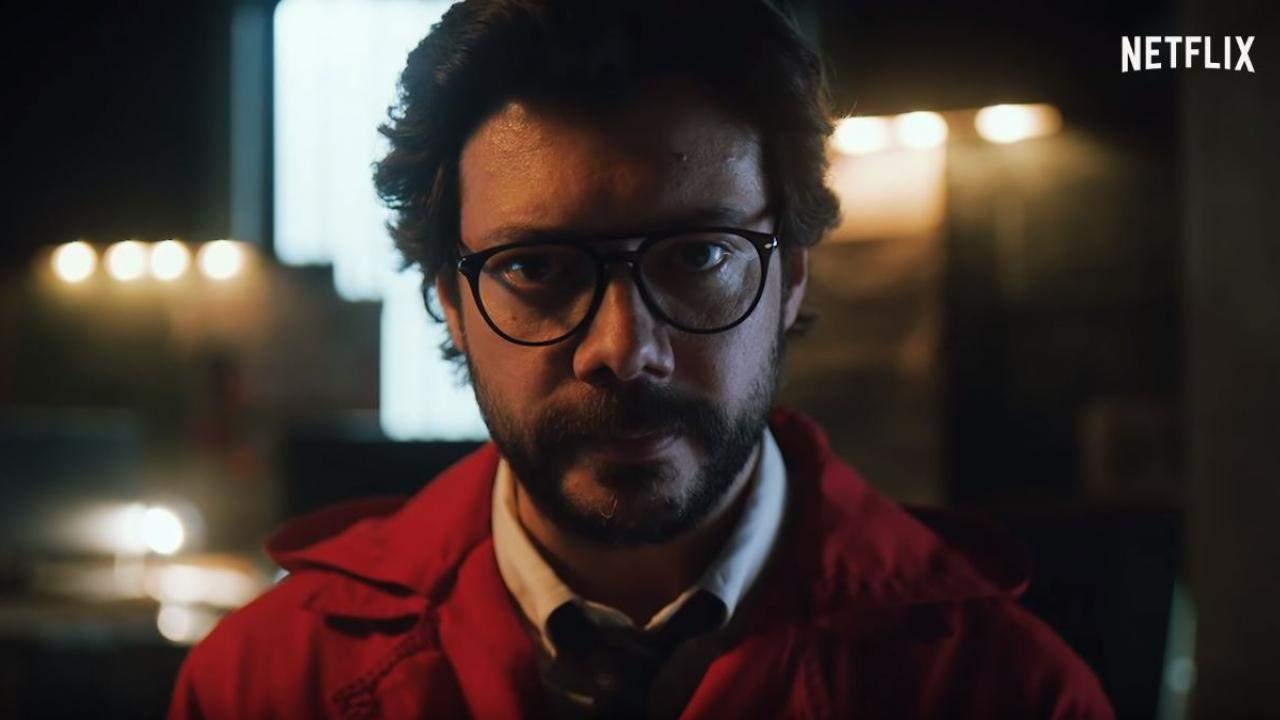 On a braqué pour vous Les lunettes de El Professor dans la Casa de Papel !