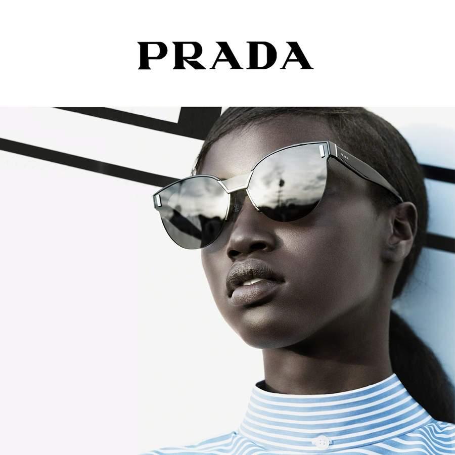 Lunettes de soleil Prada Homme   Femme   Visiofactory f71f115cf029