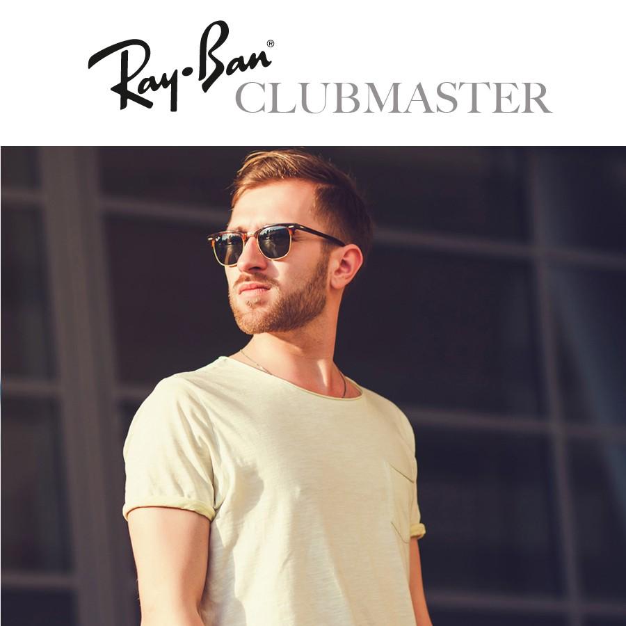 ray ban clubmaster blaze gold
