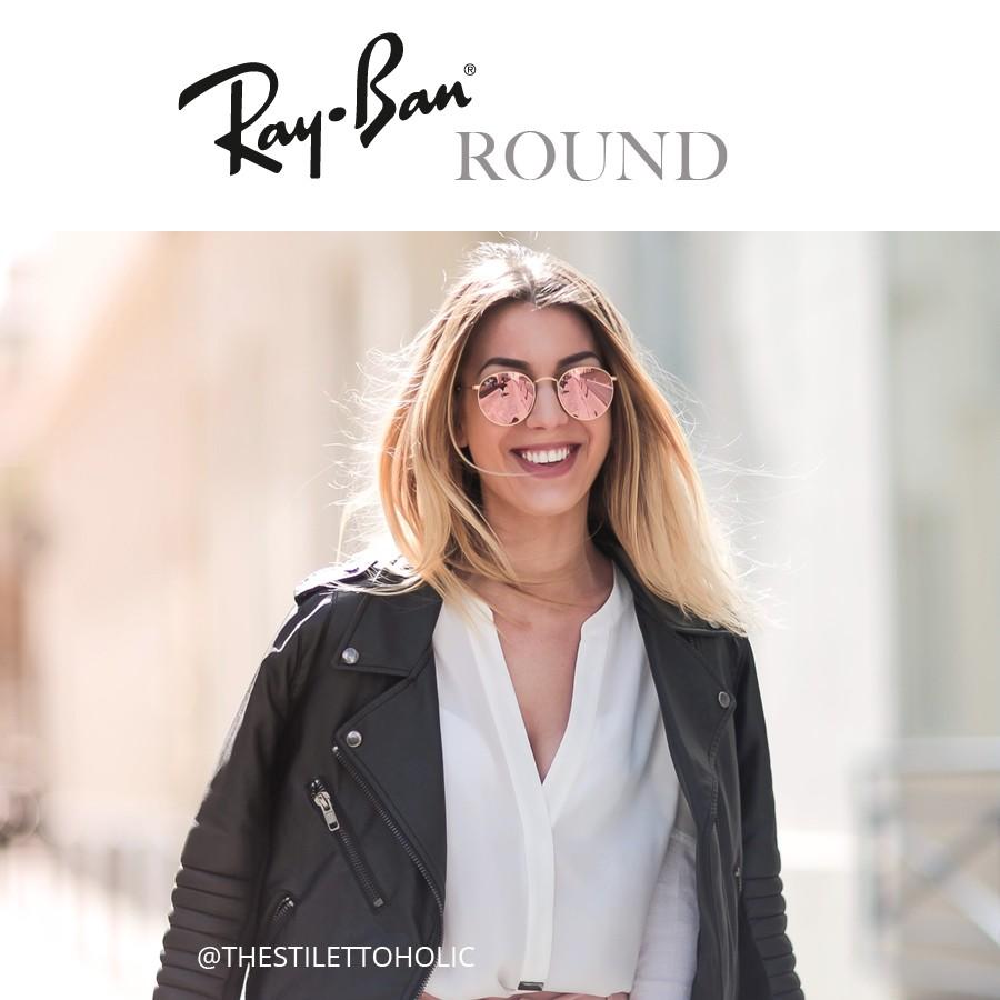 Ray Ban Round Sunglasses Man Amp Woman Visiofactory