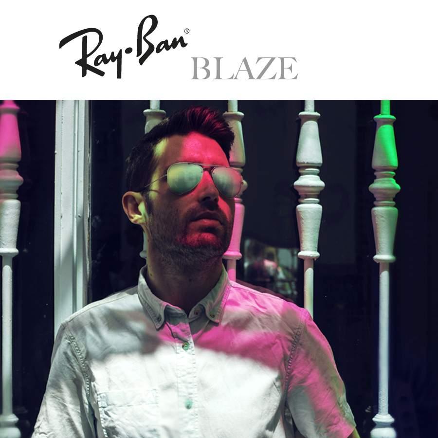 Lunettes de soleil Ray-Ban Blaze Collection pour Hommes et Femmes ... 5fda91baefe9