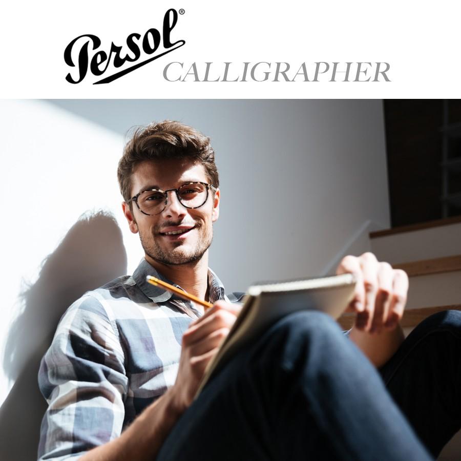 Lunettes de vue Persol Calligrapher Edition - Monture optique ... 25ab2d55ba76