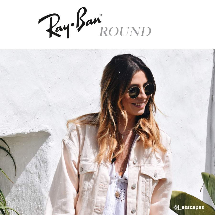 Ray Ban round shaped sunglasses (2)   Visiofactory e79d9860a38e