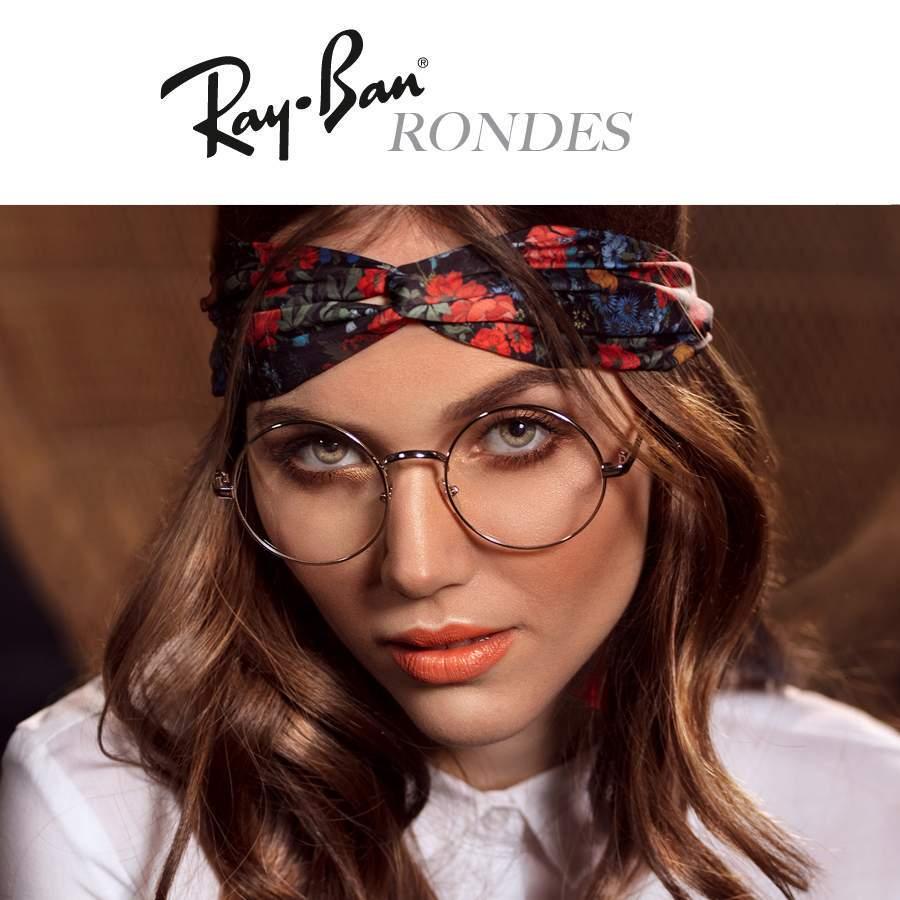 bf995e98bd Lunettes de vue rondes Ray-Ban Femme et Homme | Visiofactory
