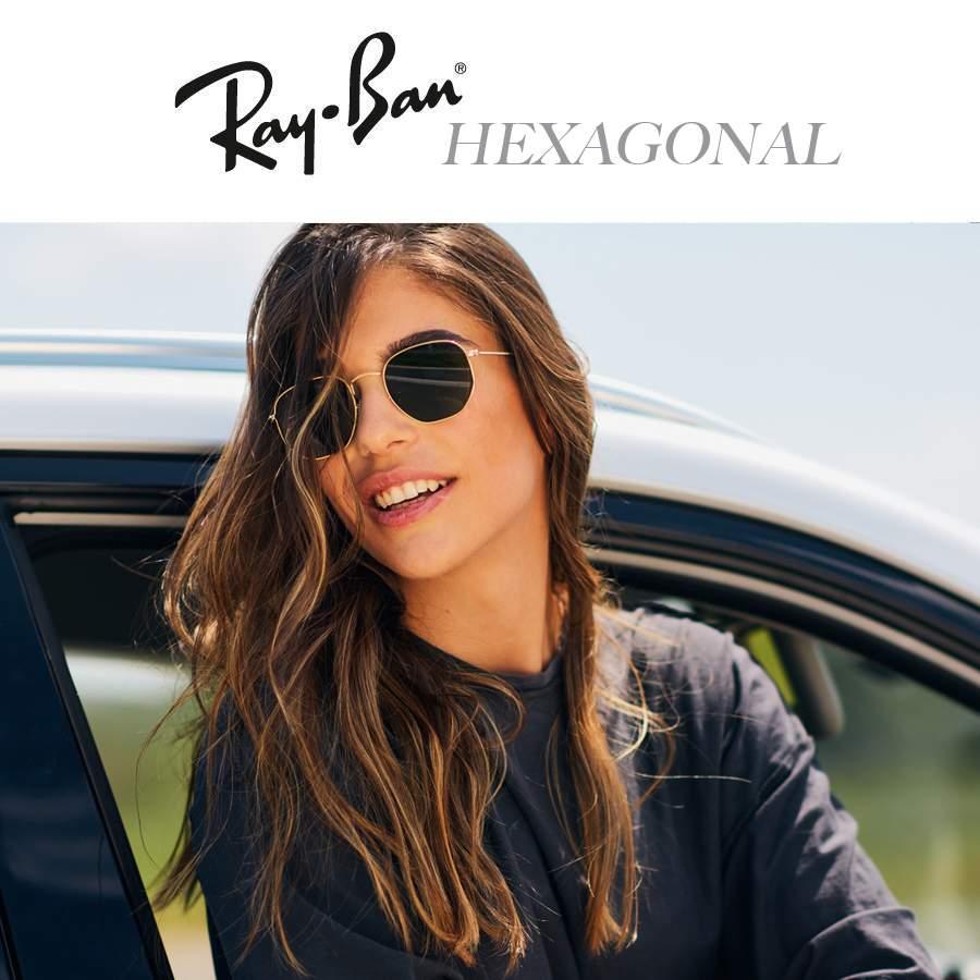 d88ee177168 Ray-Ban Hexagonal Flat Lenses Sunglasses
