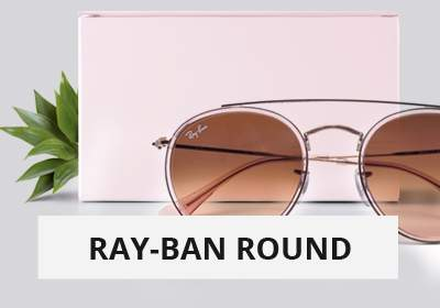 selection of sunglasses - Ray-Ban round